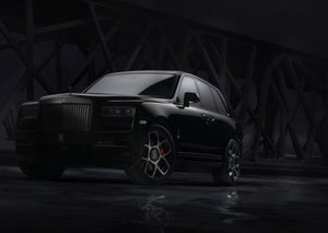 Rolls-Royce introduces new Black Badge Cullinan
