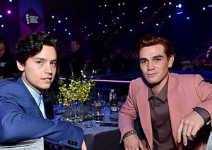 The men of Riverdale brought some serious style to the People's Choice Awards