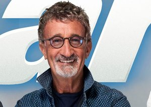 F1 legend Eddie Jordan is in town for the Dubai Motor Show