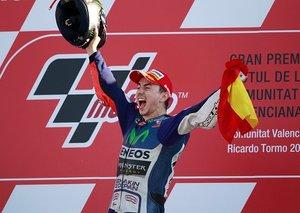 Five-time MotoGP world champion Jorge Lorenzo to retire today