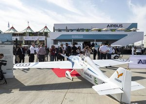 First Airbus E-racer on display at Dubai Airshow