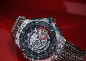 Unboxing the US$60,000 Hublot Ferrari Scuderia Sapphire
