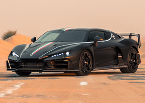 Hypercars will be auctioned at the Riyadh Car Show