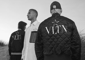 A star is born: Exclusive first look at VLTN Star's new campaign