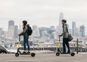 E-scooters will be banned on the Expo 2020 Dubai site