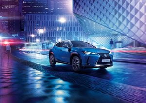 Lexus launches first-ever electric car