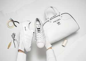 Prada and Adidas have unveiled their first collaboration
