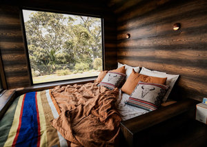 Matthew McConaughey's eco-cabin will make you want to go camping