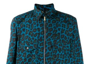 Paul Smith's long leopard-print coat is the statement piece of the season