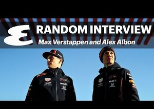 The Random Interview with Red Bull Racing's Max Verstappen and Alex Albon