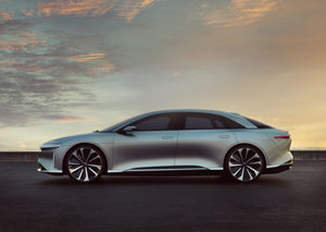 Tesla rival – Lucid Motors – starts production on first electric car