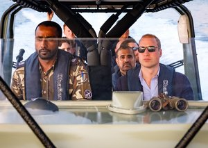 Photos: Prince William's royal visit to Oman and Kuwait