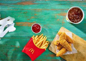 McDonald's will launch its first vegan meal in January