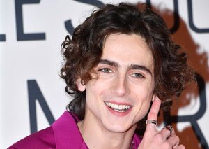Timothée Chalamet rocks a screaming pink suit