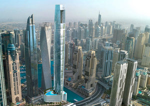 This Dubai Marina hotel will become world's tallest when it opens in 2023
