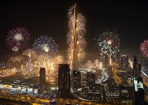 Everything you need to know about Dubai's New Year's Eve fireworks