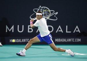 Nadal wins fifth Mubadala World Tennis Championship title with victory over Tsitsipas