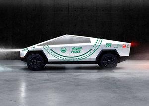 Did Dubai Police really order a Tesla Cybertruck for its fleet?