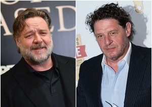 Russell Crowe will play famous chef Marco Pierre White in new biopic