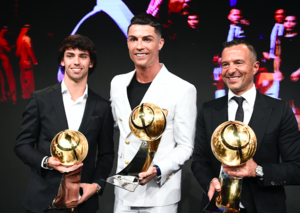 Cristiano Ronaldo scoops Men's Player of the Year at Globe Soccer Awards 2019 in Dubai