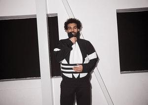 Mo Salah wears new Adidas Originals Adicolor range