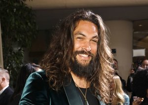 Jason Momoa wore a tank top at the Golden Globes because of course he did