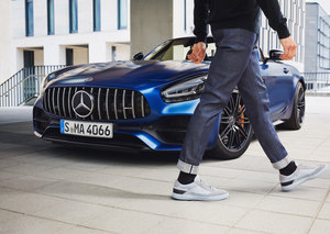 Santoni has teamed up with Mercedes-AMG to create the perfect sneaker line