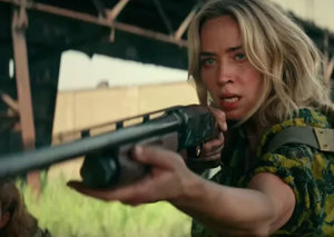 Emily Blunt is a baddass A Quiet Place Part II