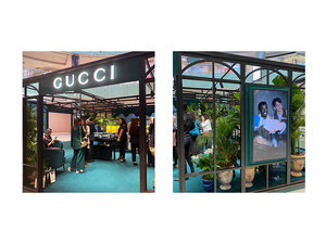 Last chance to visit Gucci's greenhouse pop-up in Dubai Mall