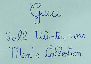 Watch the Gucci Fall/Winter 2020 show live right here
