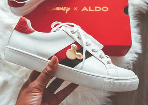 Aldo is making a new Disney collection of sneakers