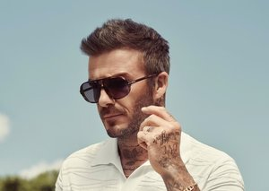 David Beckham's new sunglasses collection has a silly name