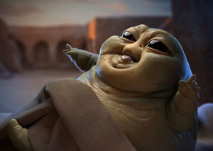 Forget Baby Yoda. Baby Jabba is everything