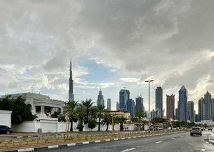 It is going to rain in Dubai this week; but you should be inside anyway