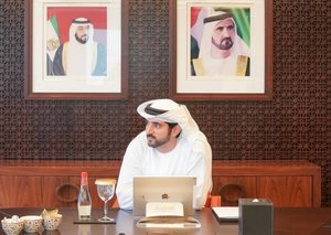 "Sheikh Hamdan on coronavirus, ""we in (Dubai) are not immune"""