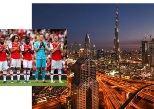 Entire Arsenal football team heading to Dubai next week