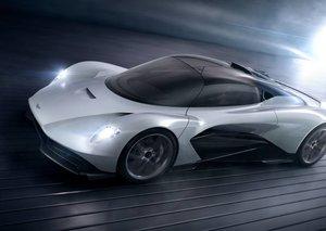 Tracking down James Bond's new hyper-car  the Aston Martin Valhalla in Dubai