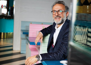 Culinary genius Massimo Bottura is in Dubai and won't rest until we're all part of his cultural revolution