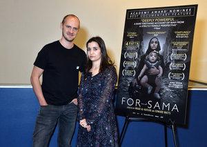 For Sama director dedicates BAFTA award to the 'Syrian people still suffering'