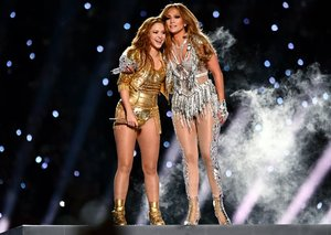 Shakira and Jennifer Lopez were the real MVPs at the Super Bowl 2020
