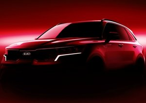 Kia's new Sorento SUV sizzles in teased images