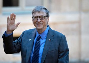 Bill Gates promises US$100 million to fight coronavirus