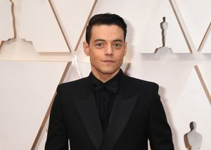 Rami Malek is now deep in the Bond villain wardrobe