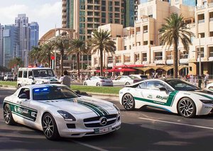 Dubai Police new 'smart patrol' is a 5G supercar