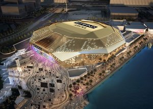 Etihad Arena in Abu Dhabi will host first event in April