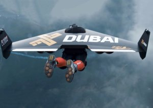 Watch: Dubai's Jetman soars above Dubai Marina in amazing new stunt