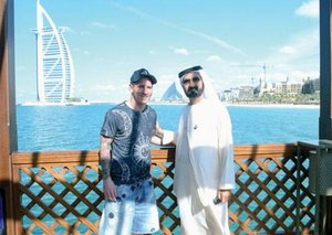 The real reason Lionel Messi is in Dubai right now