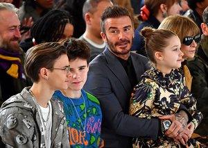 The Beckhams killed it at London Fashion Week