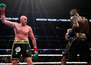 Here's how you can watch the Deontay Wilder v. Tyson Fury fight in the UAE