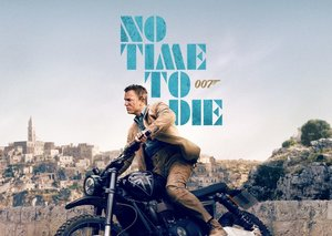 James Bond breathes new life into corduroy in the 'No Time To Die' IMAX poster